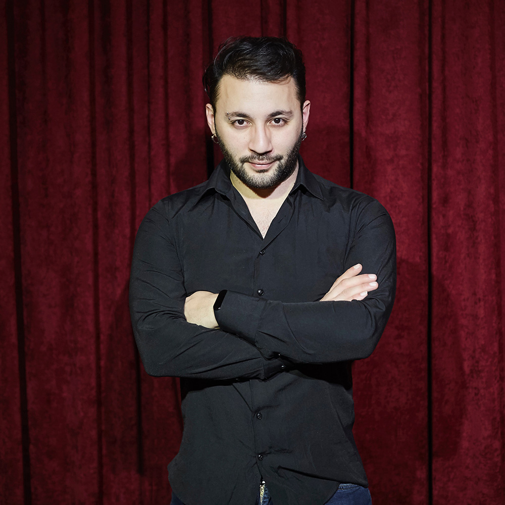 Cantuğ is a voice over actor